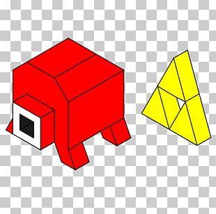 Triforce Stencil Pixel Art Pattern PNG