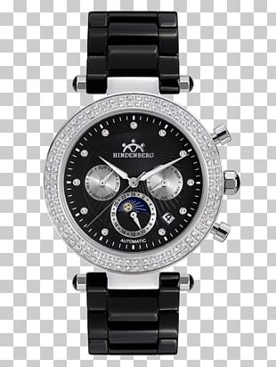 Watch Guess Clock Chronograph Strap PNG