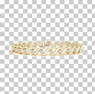 Bracelet Ring Carat Diamond Colored Gold PNG