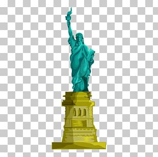 Statue Of Liberty Eiffel Tower Monument PNG