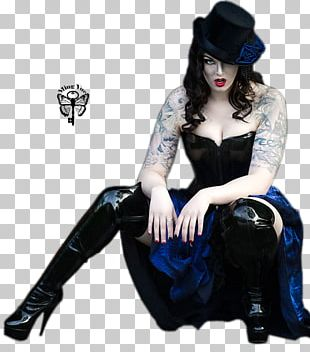 Gothic Fashion Tattoo Woman Make-up PNG
