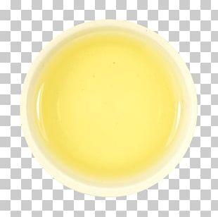 Plate Ceramic Tableware Yellow PNG
