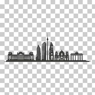Berlin Skyline Silhouette PNG
