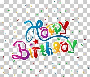 Birthday Cake Confetti Happy Birthday To You PNG