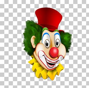 Clown Oil Painting Photography Illustration PNG