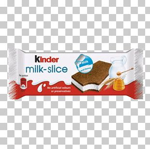 Kinder Chocolate Milk Slice Kinder Bueno Kinder Surprise PNG
