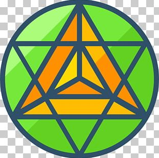 Sacred Geometry Tetrahedron Star PNG