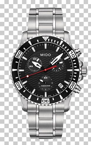 Mido Chronograph Chronometer Watch Clock PNG