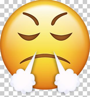 IPhone Emoji Anger Smiley Emoticon PNG