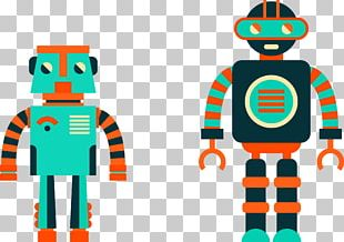Robot Euclidean Cartoon PNG