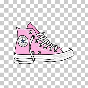 Converse Drawing Sneakers Shoe PNG