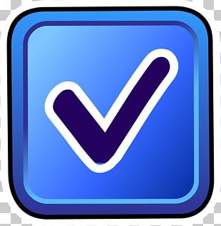 Check Mark Computer Icons Blue PNG