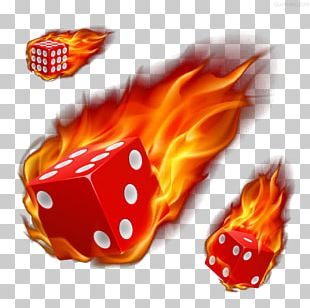 Dice Fire Stock Photography Illustration PNG