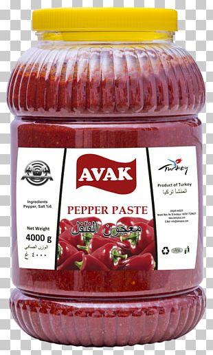 Sweet Chili Sauce Biber Salçası Relish Food Purée PNG