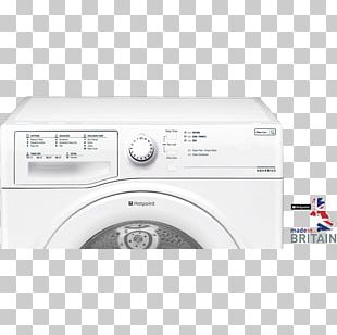 Washing Machines Clothes Dryer Hotpoint Aquarius TCFS 93B G Home Appliance PNG