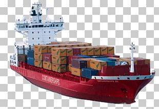 Container Ship PNG