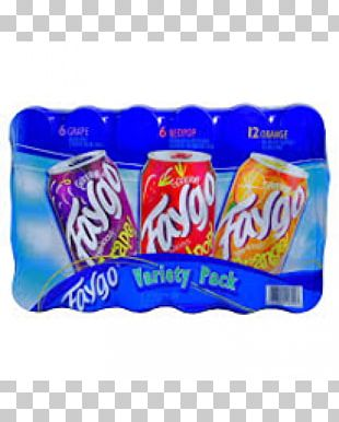 Faygo Fizzy Drinks Red Pop Coca-Cola PNG