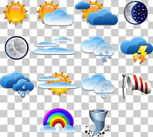 Weather Forecasting Logo Icon PNG