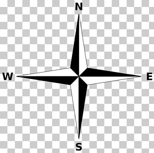 Compass Rose North Cardinal Direction Map PNG