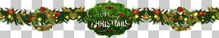 Fir Grasses Christmas Ornament Leaf PNG