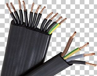 Submersible Pump Electrical Cable Ribbon Cable Wire Business PNG