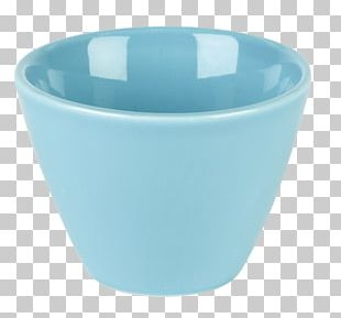 Plastic Bowl Cup Turquoise PNG