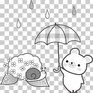 Illustration Drawing East Asian Rainy Season PNG