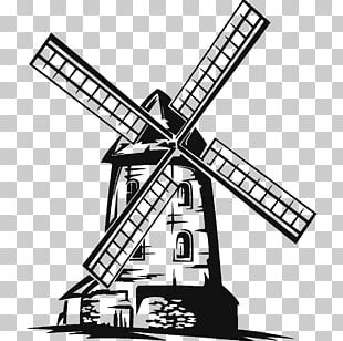 Moulin Rouge Drawing Windmill PNG