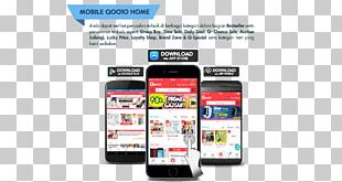 Smartphone Handheld Devices Display Advertising PNG