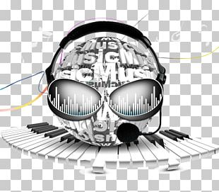 Microphone Headphones Background Music PNG
