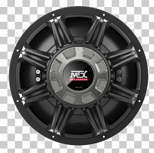 Subwoofer Alloy Wheel Car MTX Audio Wiring Diagram PNG