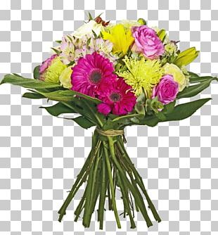 Flower Bouquet Gift Cut Flowers Floral Design PNG
