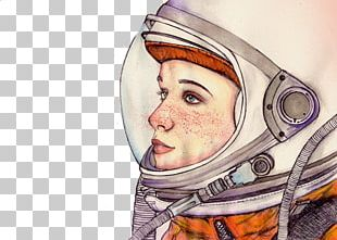Astronaut Illustrator Drawing Art Illustration PNG