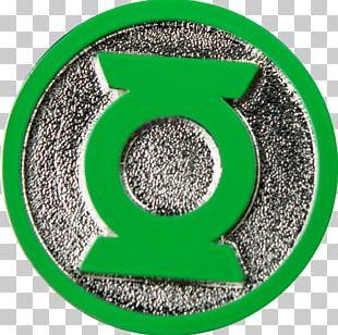 Green Lantern Corps Hal Jordan Sinestro Lapel Pin PNG