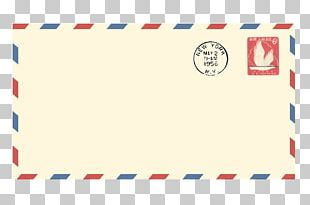 Paper Airmail Envelope Letter PNG