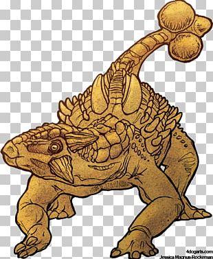 Ankylosaurus Dinosaur Tyrannosaurus Dinopedia Ankylosauria PNG