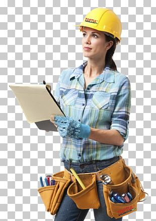 General Contractor Architectural Engineering Woman Construction Worker Carpenter PNG