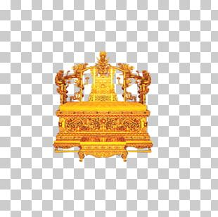 Forbidden City Emperor Of China Qing Dynasty Table Chair PNG