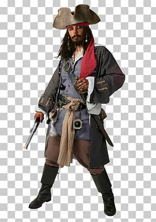 Jack Sparrow Costume Piracy Clothing Pirates Of The Caribbean PNG