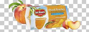 Fruit Cup Juice Flavor Peach Vegetarian Cuisine PNG