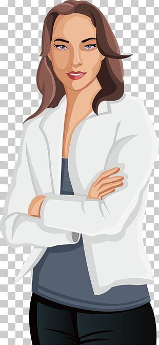 Woman Cartoon Illustration PNG