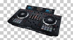 DJ Controller Disc Jockey Audio Mixers Numark Industries PNG