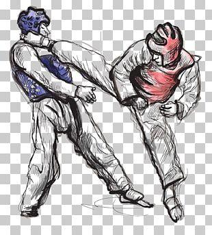 Taekwondo Drawing Stock Photography Illustration PNG