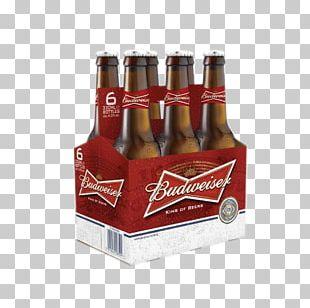 Budweiser Beer Bottle Wine Beer Bottle PNG