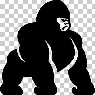 Gorilla Computer Icons PNG