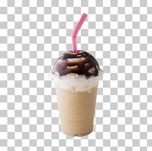 Sundae Chocolate Ice Cream Milkshake Chocolate Syrup Frappé Coffee PNG