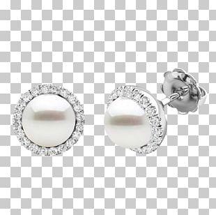 Pearl Earring Diamond Jewellery Wedding Ring PNG