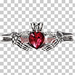 Claddagh Ring Bracelet Jewellery Gothic Fashion Clothing PNG