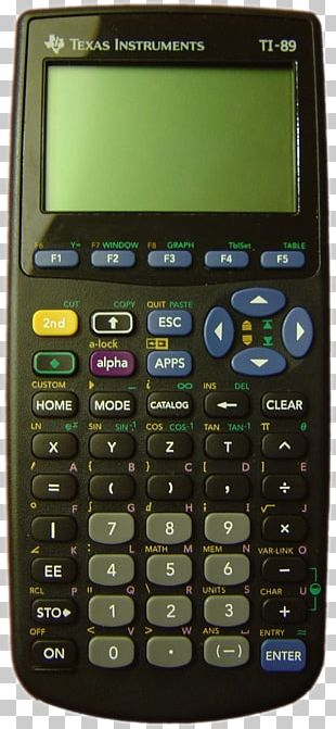TI-89 Series Graphing Calculator Texas Instruments TI-30 TI-84 Plus Series PNG
