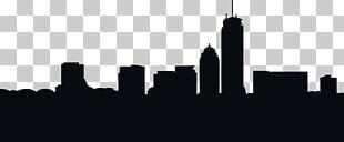 Boston Skyline Silhouette PNG